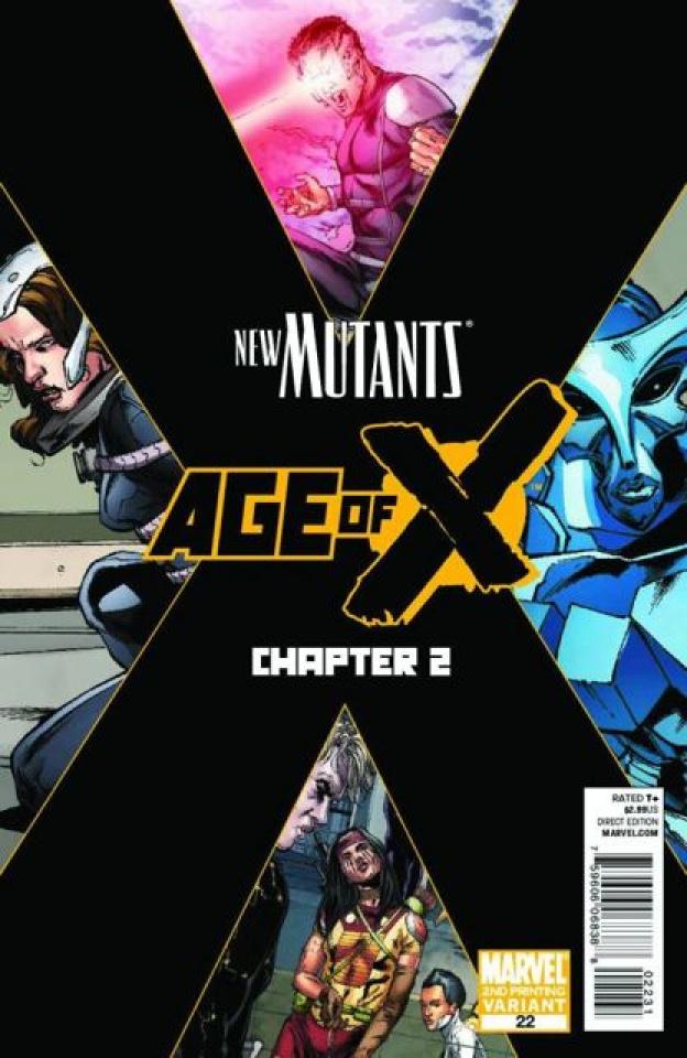 New Mutants #22 (2nd Printing)