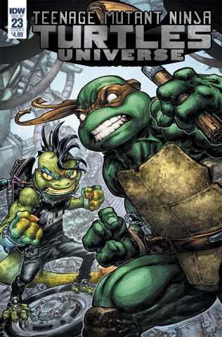 Teenage Mutant Ninja Turtles Universe #23 (Williams II Cover)