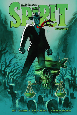 The Spirit #3 (Powell Cover)