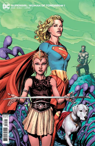 Supergirl: Woman of Tomorrow #1 (Gary Frank Cover)
