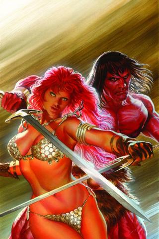 Red Sonja / Conan #1 (Rare Ross Virgin Cover)