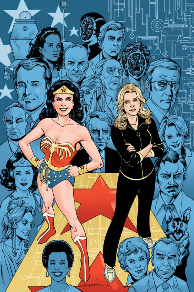 Wonder Woman '77 Meets The Bionic Woman #2 (Incentive Cover)