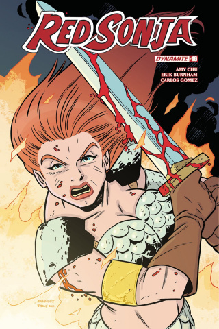 Red Sonja #17 (Marques Subscription Cover)