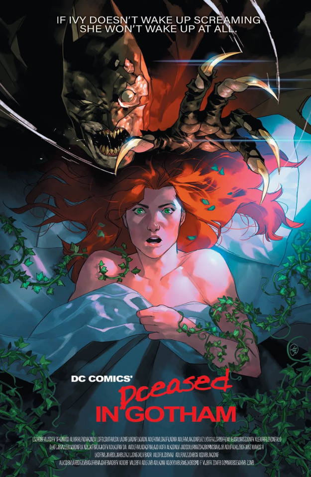 DCeased #2 (Horror Cover)