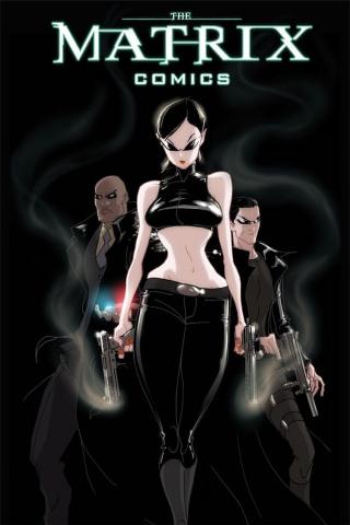 The Matrix Comics (20th Anniversary Trinity Cover)