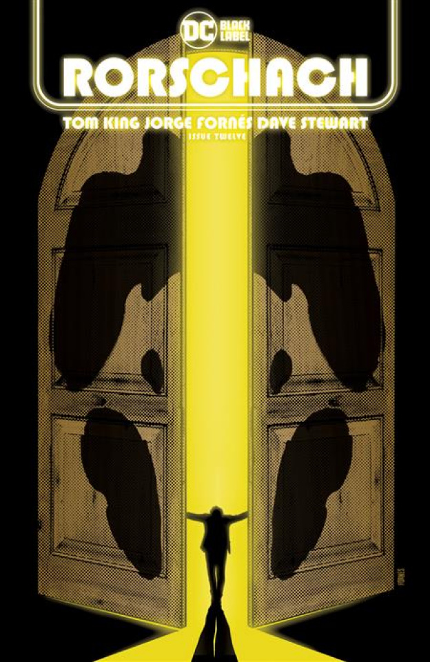 Rorschach #12 (Jorge Fornes Cover)