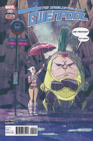 Gwenpool #3 (Stacey Lee 2nd Printing)