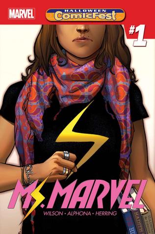 Ms. Marvel #1 (Halloween ComicFest 2018)
