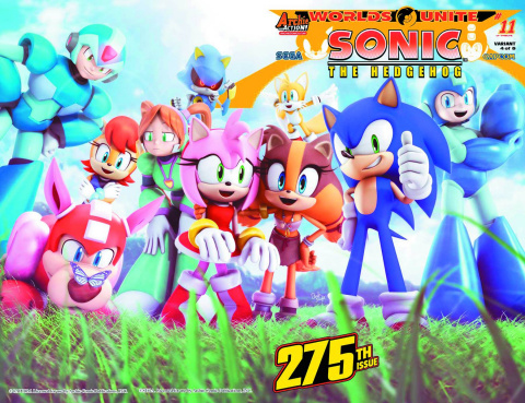 Sonic the Hedgehog #275 (Knight Wraparound Cover)