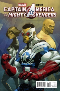 Captain America and the Mighty Avengers #1 (Benjamin Cover)