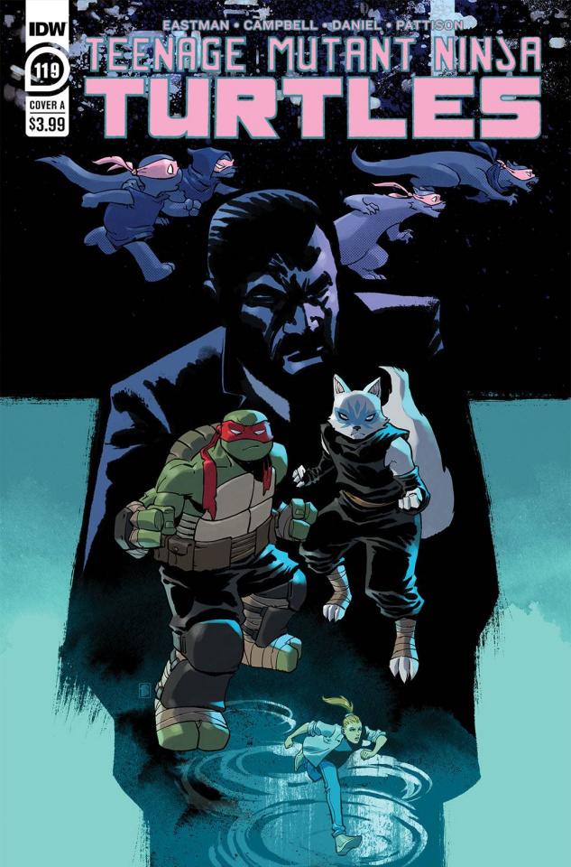 Teenage Mutant Ninja Turtles #119 (Nelson Daniel Cover)