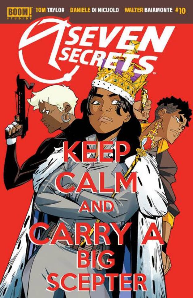Seven Secrets #10 (Di Nicuolo Cover)