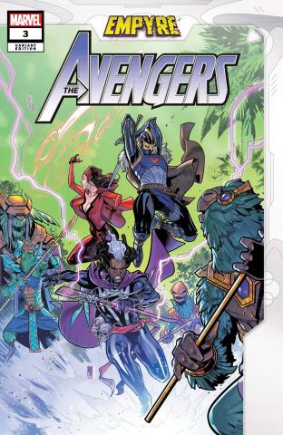 Empyre: Avengers #3 (Medina Cover)