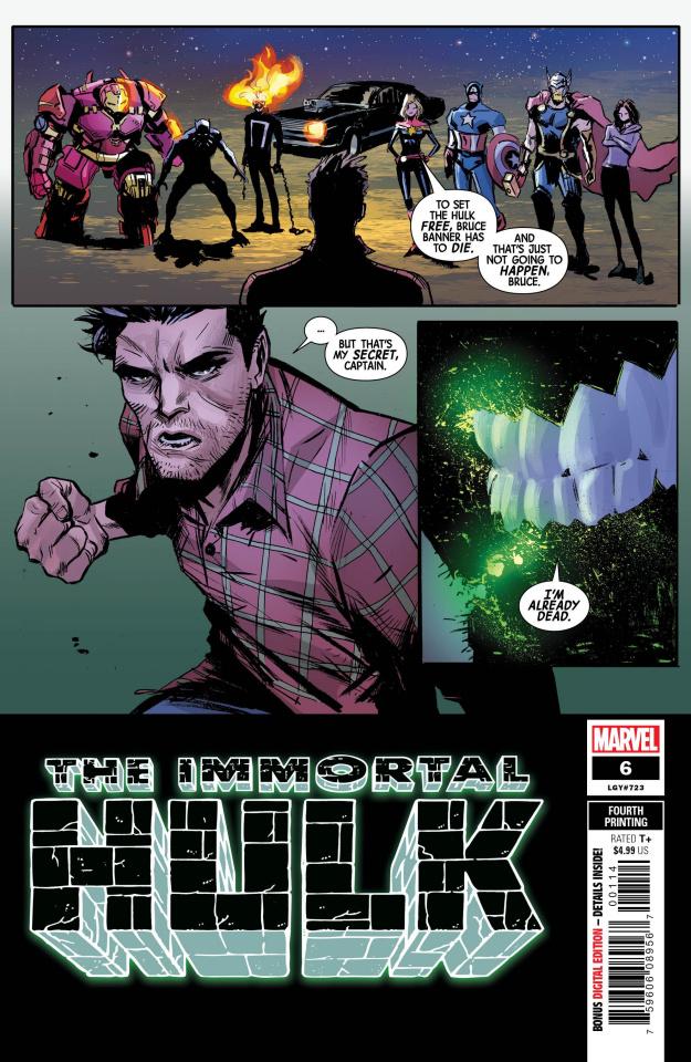The Immortal Hulk #6 (Garbett 4th Printing)