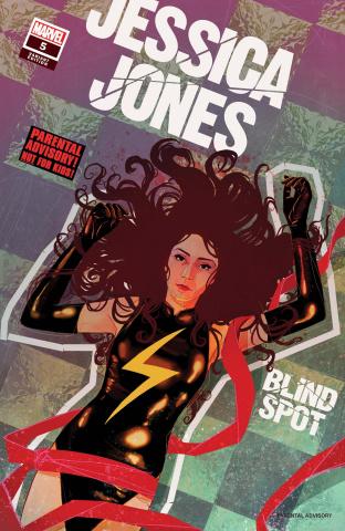Jessica Jones: Blind Spot #5 (Simmonds Cover)