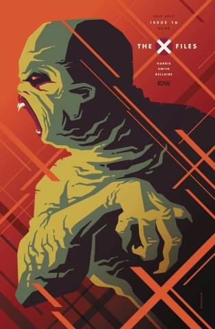 The X-Files #16 (Whalen Cover)