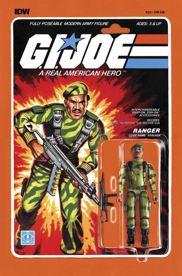 G.I. Joe: A Real American Hero #222 (Subscription Cover)