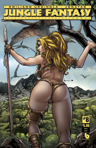 Jungle Fantasy: Ivory #8 (Sultry Cover)