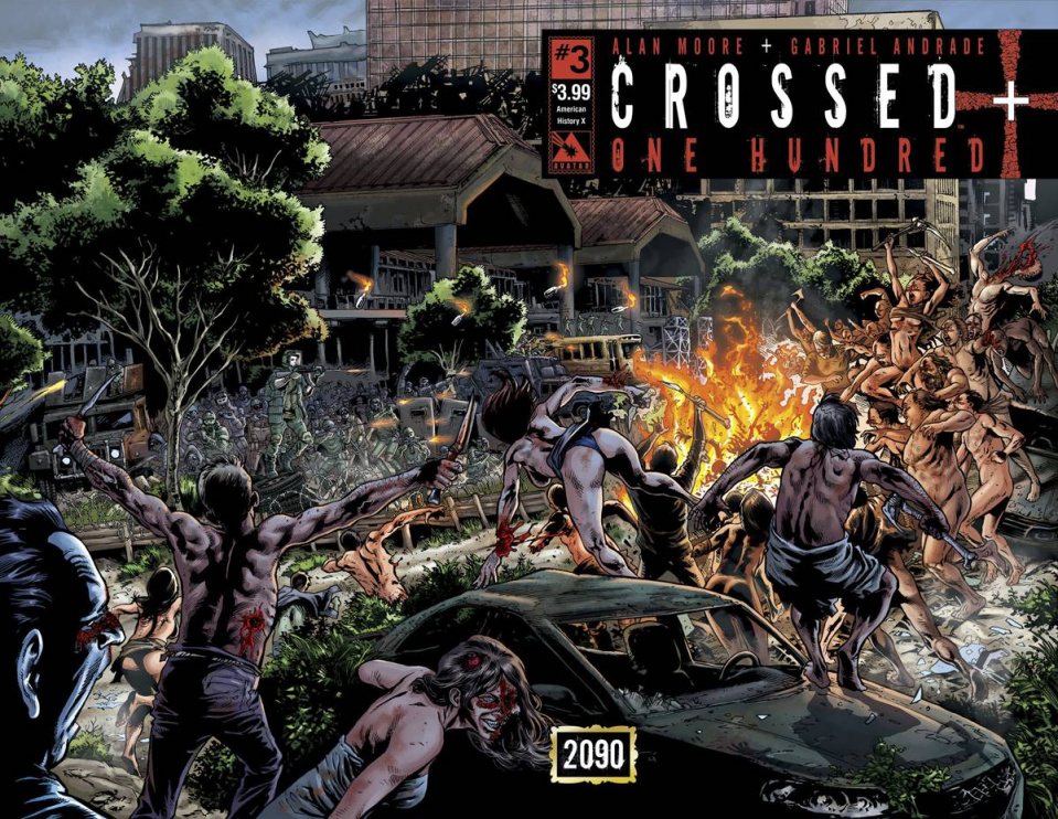Crossed + One Hundred #3 (American History X Wrap Cover)