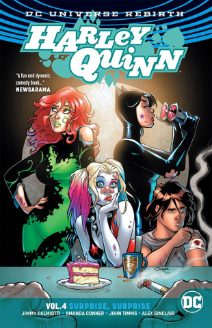 Harley Quinn Vol. 4: Surprise Surprise (Rebirth)