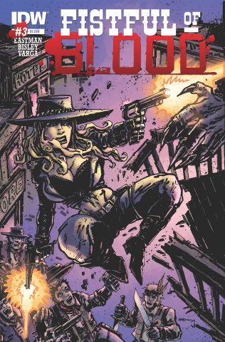 Fistful of Blood #3 (10 Copy Cover)