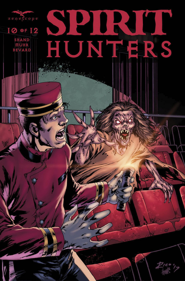 Spirit Hunters #10 (Richardson Cover)