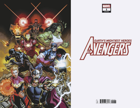 Avengers #1 (McGuinness Virgin Cover)