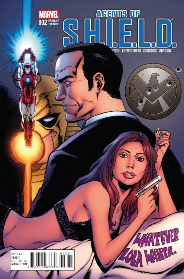 Agents of S.H.I.E.L.D. #2 (Seely Cover)