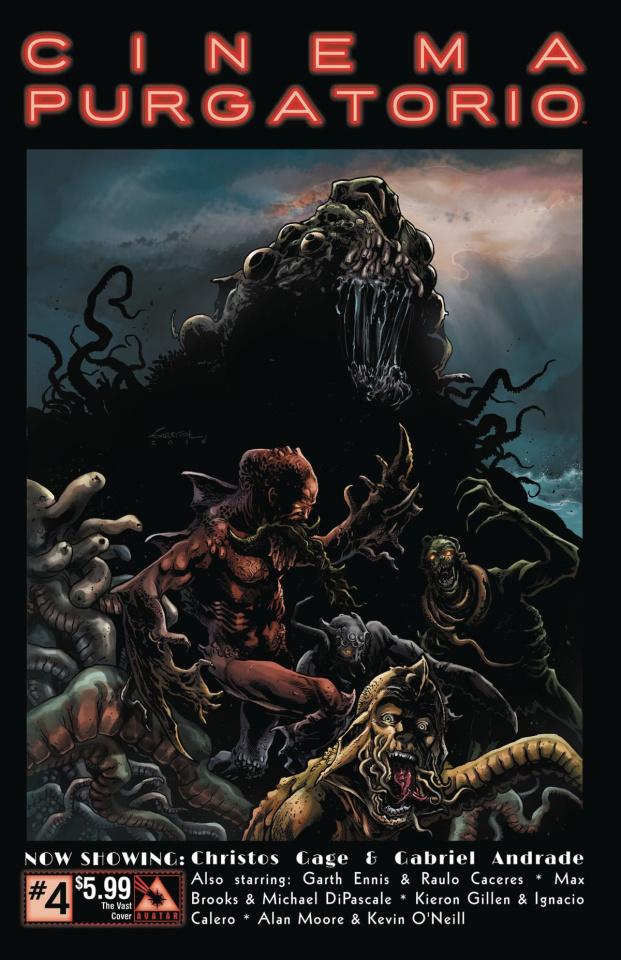 Cinema Purgatorio #4 (Vast Cover)