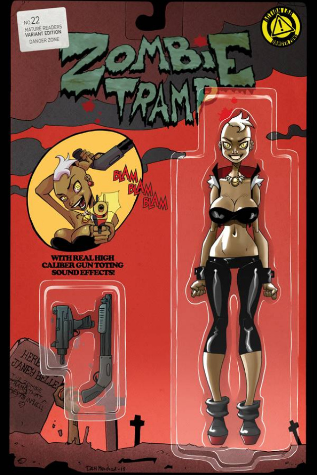 Zombie Tramp #22 (Action Figure Cover)