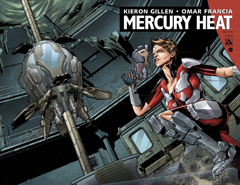 Mercury Heat #1 (Wrap Cover)