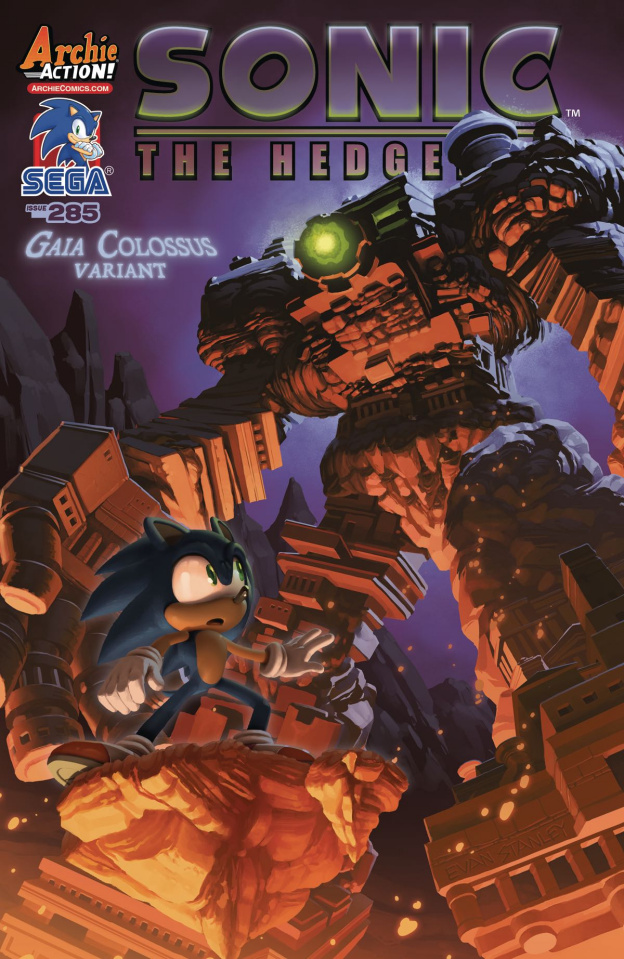 Sonic the Hedgehog #285 (Stanley Cover)