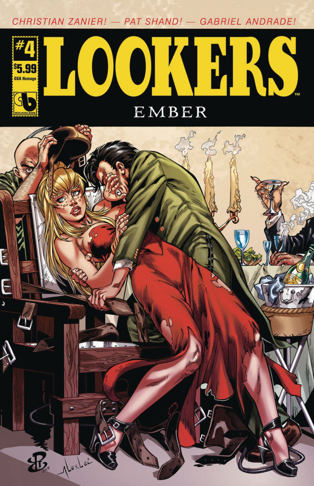 Lookers: Ember #4 (GGA Homage Cover)