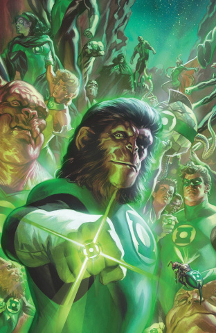 The Planet of the Apes / The Green Lantern #1 (50 Copy Massafera Cover)
