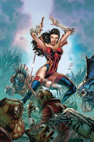 Grimm Fairy Tales #36 (Vitorino Cover)