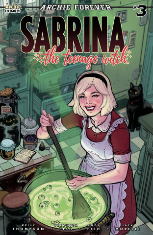 Sabrina, The Teenage Witch #3 (Ibanez Cover)