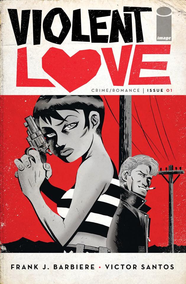 Violent Love #1 (2nd Printing)