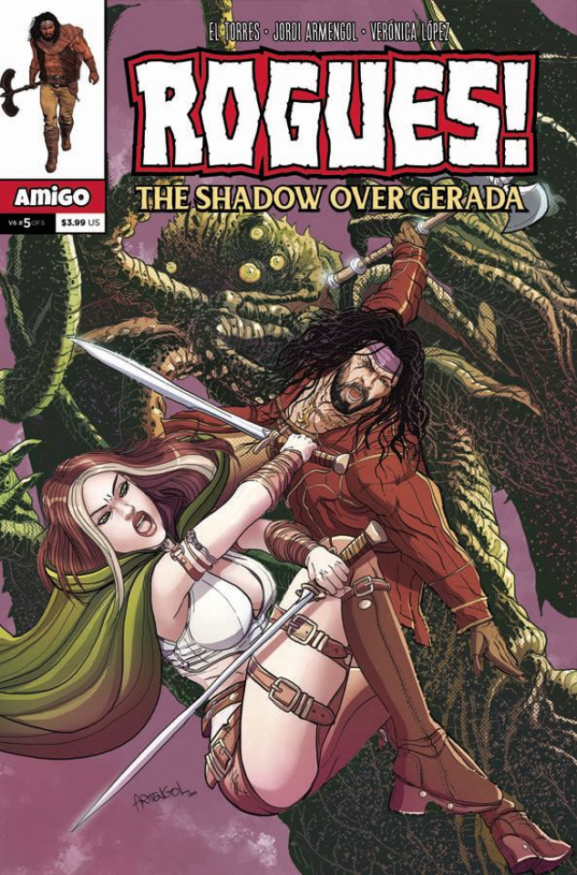 Rogues! The Shadow Over Gerada #5
