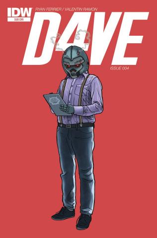 D4VE #4 (Subscription Cover)