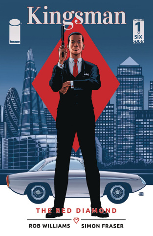 Kingsman: The Red Diamond #1 (Gibbons Cover)