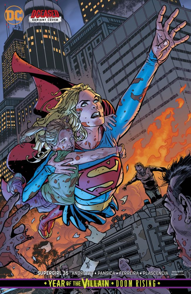 Supergirl #35 (Year of the Villain)