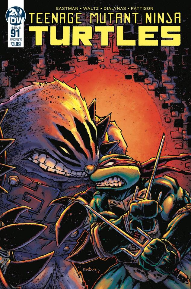 Teenage Mutant Ninja Turtles #91 (Eastman Cover)