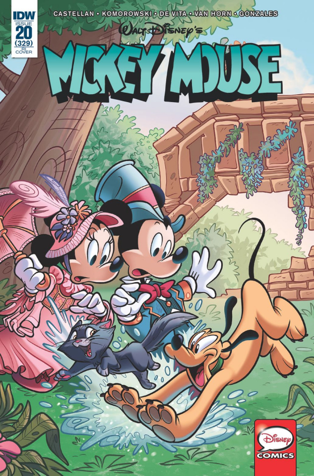 Mickey Mouse #20 (10 Copy Cover)