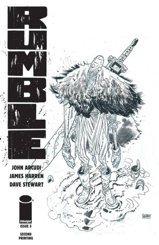 Rumble #3 (2nd Printing)