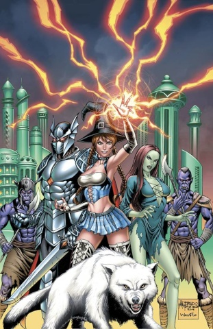 Grimm Fairy Tales: Oz - Reign of the Witch Queen #1 (Reyes Cover)