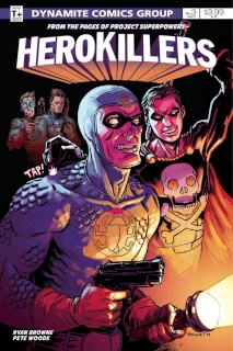 Project Superpowers: Hero Killers #3 (Browne Cover)