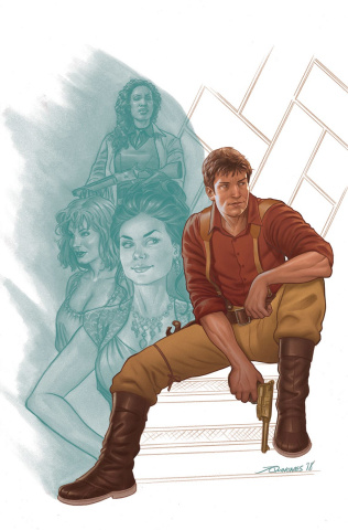 Firefly #1 (Quinones Cover)