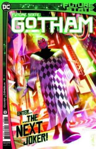Future State: Gotham #8 (Simone Di Meo Cover)