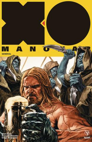 X-O Manowar #6 (Larosa Cover)