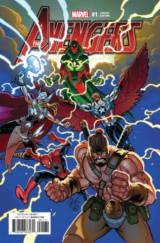 Avengers #1 (Pastovicchio Cover)
